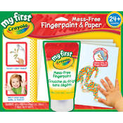 My First Crayola Mess-Free Fingerpaint & Paper Wholesale Bulk