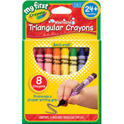 My First Crayola Washable Crayons, 8-Pack