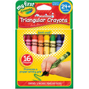 My First Crayola Washable Triangular Crayons Wholesale Bulk