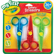 My First Crayola Safety Scissors, 3-Pack Wholesale Bulk