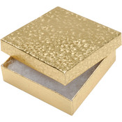 Gold Medium Jewelry Boxes, 6-Pack