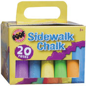 Poof-Slinky Jumbo Sidewalk Chalk, 20-Pack Wholesale Bulk