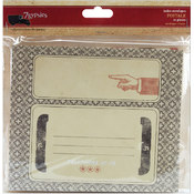 "Postale Index Envelopes 6""X5"" 10/Pkg"