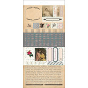 "Trousseau Stickers 6""X12""-Collection"