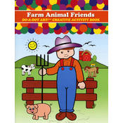 Do-A-Dot Activity Book, Farm Animals Friends