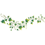 Delta Stencil Magic Decorative Stencils-Flowing Ivy 8-1/ Wholesale Bulk