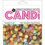 Craftwork Cards Candi Dot Embellishments, Carnaby Street Wholesale Bulk