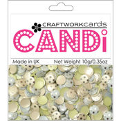 Craftwork Cards Candi Dot Embellishments, Nightingale Square Wholesale Bulk