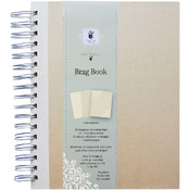 Fancy Pants Artist Edition Spiral Brag Book 7'X9'-Cream Wholesale Bulk