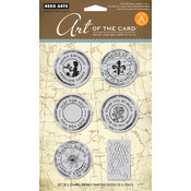 Hero Arts Cling Stamps, Untitled Postmark