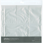 American Crafts Photo Protectors 12-Inch by 12-Inch Sheet, 10-Pack Wholesale Bulk