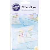 "Love Pillow Boxes 2.75""X3.5"" 20/Pkg-White"