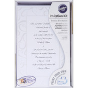 Invitation Kit 50/Pkg-Elegant Swirls