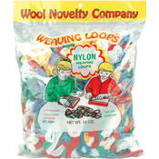 Nylon Weaving Loops 16 Ounces-Multi Wholesale Bulk