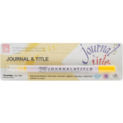 Zig Journal & Title Marker, Pure Yellow Wholesale Bulk