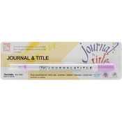 Zig Journal & Title Marker, Hyacinth Wholesale Bulk