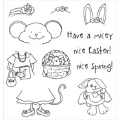 Inky Antics Clear Stamp Set, Easter Millie