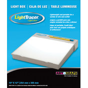 "LightTracer Light Box-10""X12"""