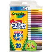 Crayola Super Tip Washable Markers-20/Pkg