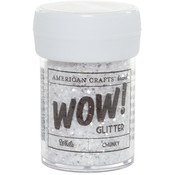 Glitter Chunky-White