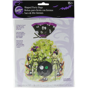"Shaped Party Bags 6""X9"" 15/Pkg-Spooky Pop"