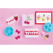 Martha Stewart Silicone Molds 2-1/4'X1/4' 4/Pkg-Sweet Shop Wholesale Bulk