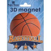 Paper House 3D Magnets,Basketball