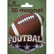 Paper House 3D Magnets, Football