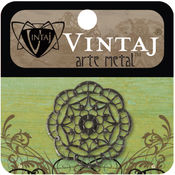 Vintaj Metal Accent 1/Pkg-Kaleidoscope Filigree
