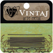 Vintaj Metal Head Pins 24/Pkg-1.5""