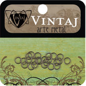 Vintaj Metal Jump Rings 24/Pkg-4.75mm