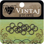 Vintaj Metal Jump Rings 16/Pkg-4.75mm