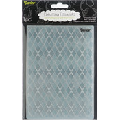 "Embossing Folder Background 5""X7""-Argyle"