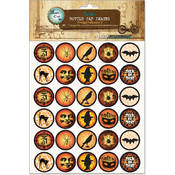 Bottle Cap Images-Vintage Halloween 2