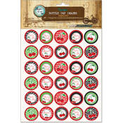 "Vintage Bottle Cap Images 1""-Cherry Girl"
