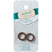 Darice Connectors-Copper W/Rhinestones Wholesale Bulk
