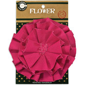 Canvas Flower-Hot Pink
