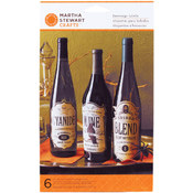 Wine Labels 6/Pkg-Haunted