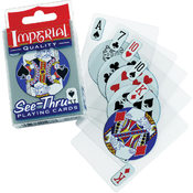 Imperial See-Thru Poker Playing Cards