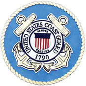 Uniformed Scrapbooks U.S. Coast Guard Diecut-Emblem Wholesale Bulk