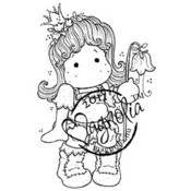 Princes &amp;amp; Princesses Cling Stamp-Tilda....Valley