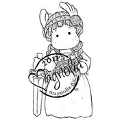Princes &amp;amp; Princesses Cling Stamp-Viking Tilda