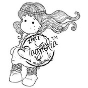 Princes &amp;amp; Princesses Cling Stamp-Medieval Tilda