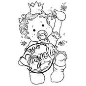 Princes &amp;amp; Princesses Cling Stamp-Baby Tilda