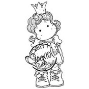 Princes &amp;amp; Princesses Cling Stamp-Sweet Tilda