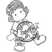 Sweet Crazy Love Cling Stamp-Tilda As A Star