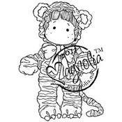 Sweet Crazy Love Cling Stamp-Wild Tilda