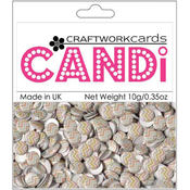 Craftwork Cards Candi Dot Embellishments .35 oz-Sweet Pea Wholesale Bulk