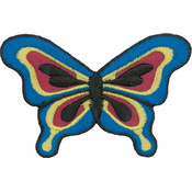 Tees & Novelties Patches For Everyone Iron-On Appliques-Butterfly A Wholesale Bulk