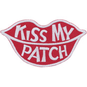 Tees & Novelties Patches For Everyone Iron-On Appliques-Kiss My Pat Wholesale Bulk